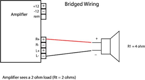 bridged lifier diagram how to bridge a car stereo lifier for more power how