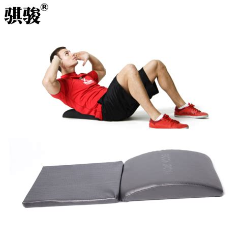 portable sit up bench ab mat portable folding sit up bench waist and abdomen