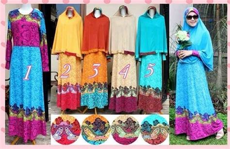 Promo Gamis Busana Muslim Bermerk Modern Style Ootd Busana Muslim Koleksi Terbaru