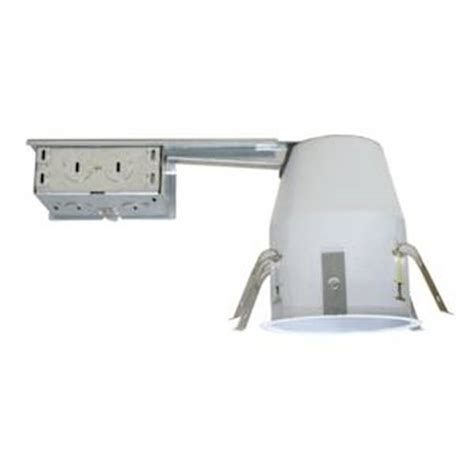 Ic Light Fixtures Nicor 08642 4 Quot Remodel Housing Ic 19001ar Led Elightbulbs