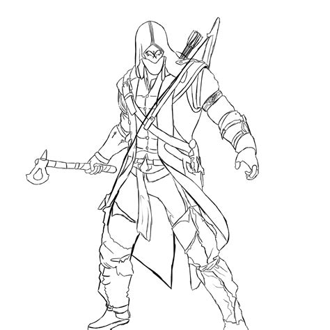 assassins creed colouring book assassin s creed 6 video games printable coloring pages