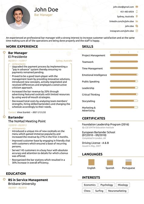 Resume Template Quora by What S The Best Resume Template Can Anyone His