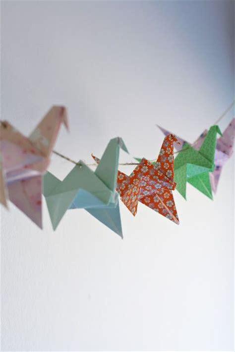 Origami Garland - 25 unique origami garland ideas on origami