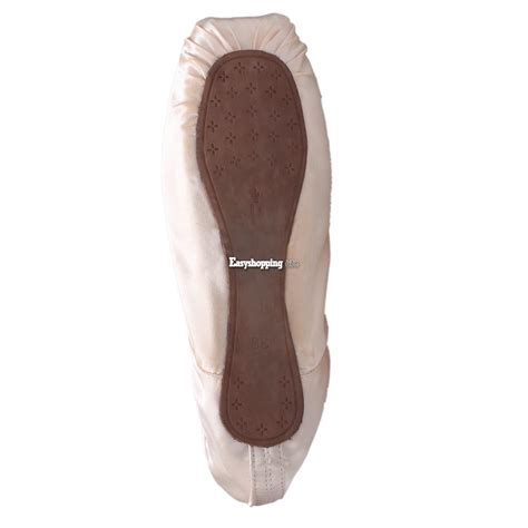 pink ballet toe shoes professional satin
