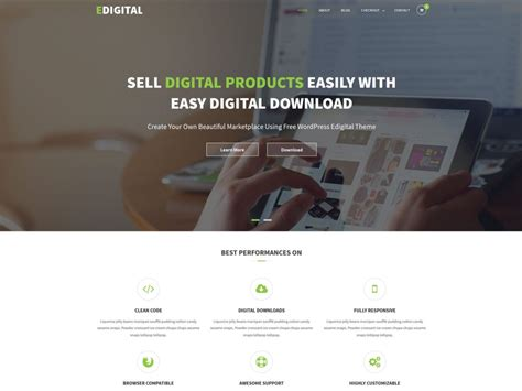 wordpress themes free download for software company 15 best free wordpress themes for software company website