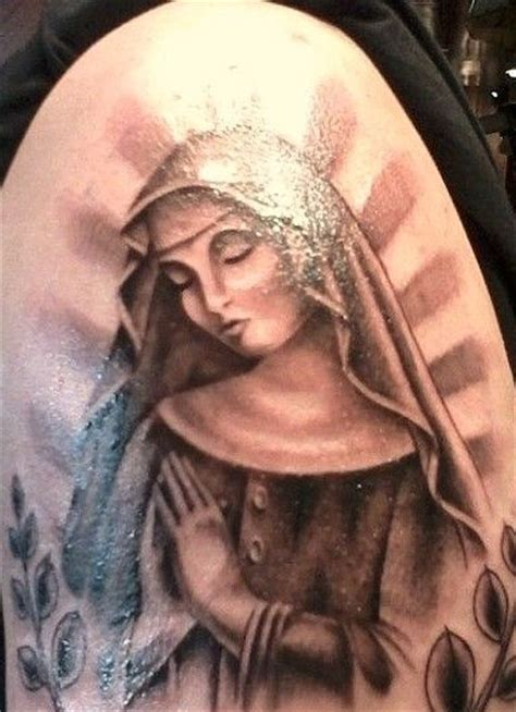 virgin mary tattoo black and grey 17 best images about tattoo designs on pinterest cas