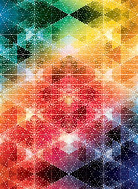 pattern of kaleidoscopic grid andy gilmore geometric patterns ego alterego com