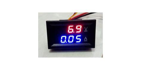 Alat Ukur Ac Listrik Voltmeter Digital Stop Kontak Pln T1310 dc0 100v 10a led dc dual display digital voltmeter eremeter toko komponen elektronik