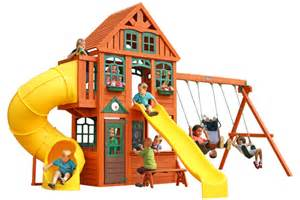 Fun Backyard Activities Cedar Summit Premium Play Sets