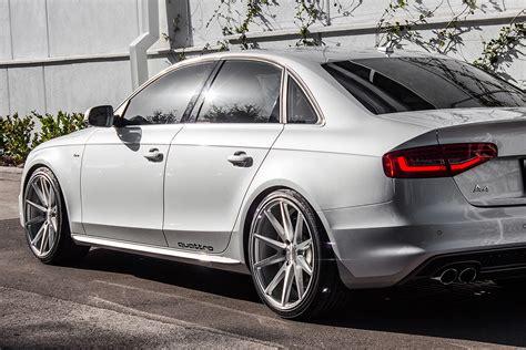 Audi A4 B5 Quattro Aufkleber by Vossen 174 Cvt Wheels Gloss Silver Rims