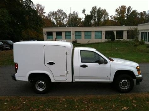colorado service find used 2008 chevy colorado service utility truck fiberglass astro clean