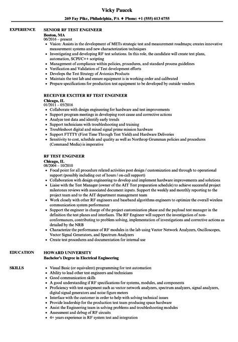 28+ [what is rf design engineer resume rf engineer baseline]