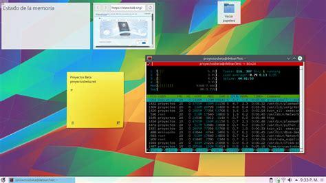 escritorio kde plasma instalar kde plasma 5 en debian stretch y el todo en