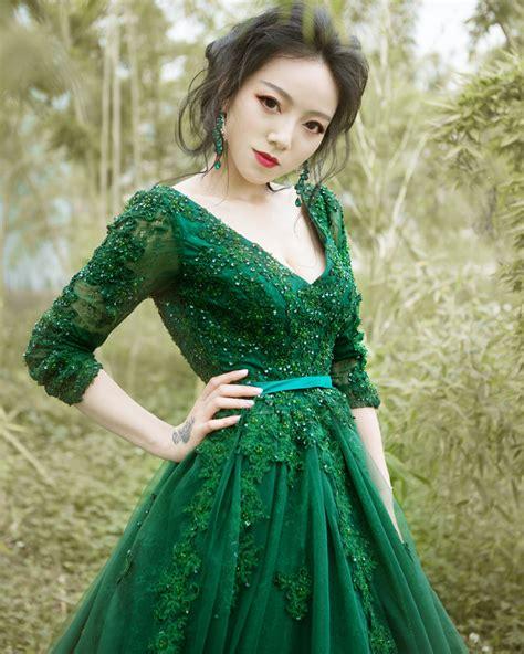 Popular Green Wedding Dress Buy Cheap Green Wedding Dress