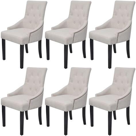 chaises pour salle à manger la boutique en ligne vidaxl chaises pour salle 224 manger 6