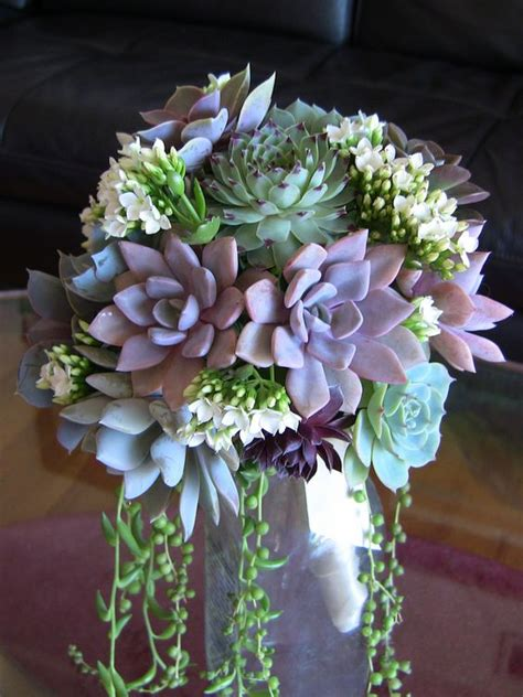 Beautiful Bridal 7 Must See Succulent Wedding Bouquets Succulent Wedding Centerpiece