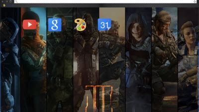 google themes bo3 call of duty black ops 3 thema v1 chrome theme themebeta