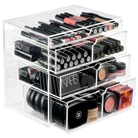 Make Up Brushes Lipstick Storage Atau Rak Make Up Acrylic 1155 Ondisplay 4 Tier Nyc Acrylic Cosmetic Makeup Organizer 80