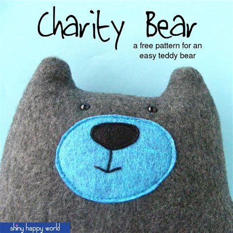 simple pattern for a teddy bear warren the charity bear a free teddy bear pattern
