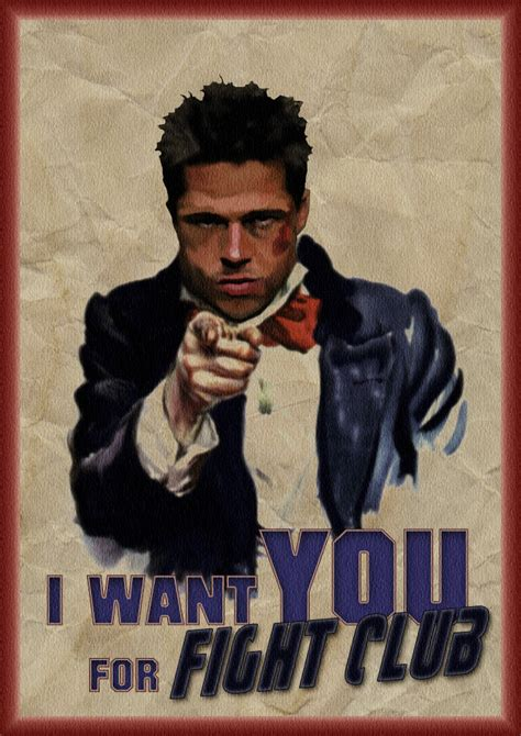 i want you i want you for fight club by ludkubo on deviantart