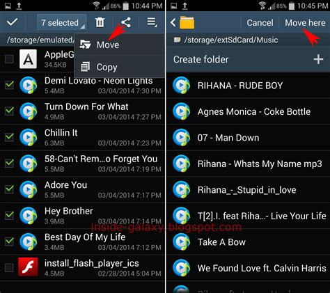 android move files to sd card samsung galaxy s4 how to transfer files to sd card in android 4 4 2 kitkat