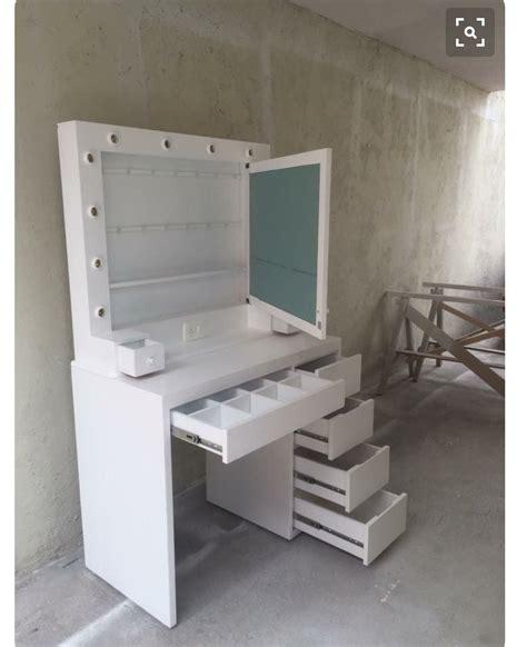 small space storage galore vanity desk future home