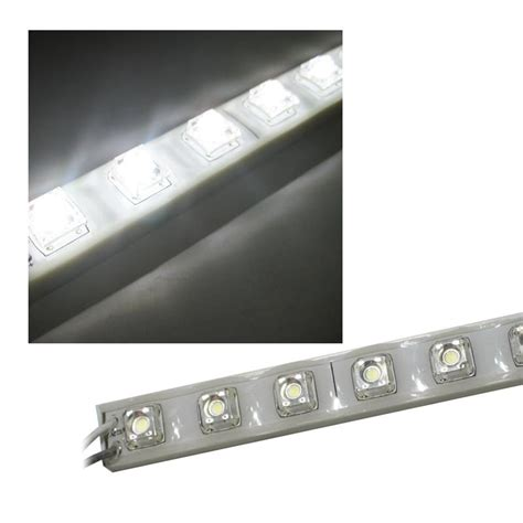 led leiste superflux led leiste pur weiss 50cm ip65 30 leds