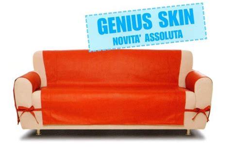 copridivani per divani in pelle copridivano 2 posti genius skin eco pelle g l g