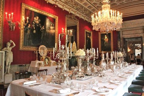 Downton Dining Room by Chatsworth House Downton Susan Branch