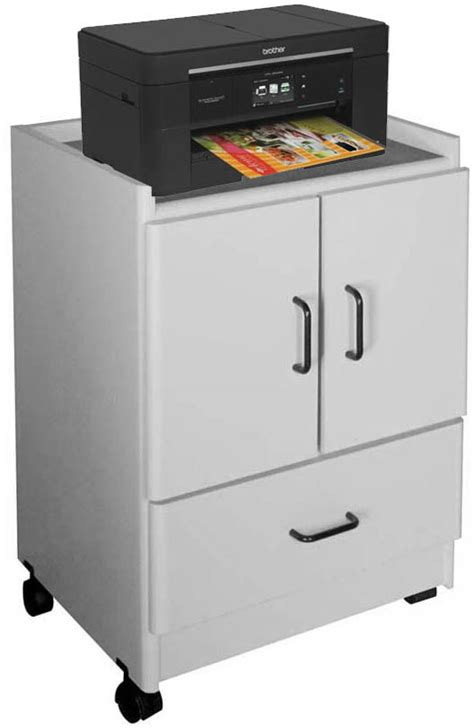printer with doors mobile printer stand with doors