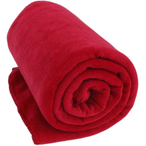 College Rugs Red Fleece Throw Blanket Monogram Available