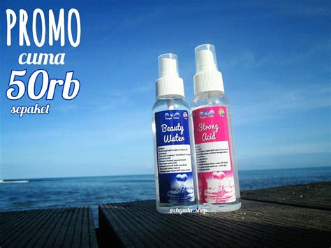 Strong Acid Baeuty Water chynda shop by suci nanda jual kangen water strong acid dan water kangen water
