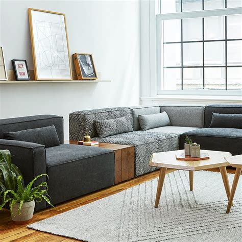 Furniture Sectional by Mix Modular 5 Pc Sectional Sectionals Gus Modern