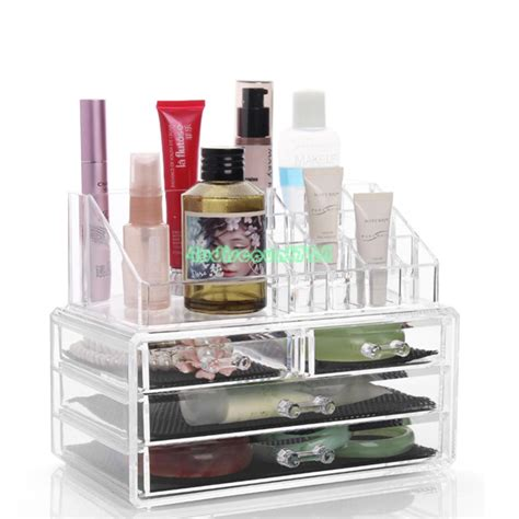 clear makeup drawers cosmetic organizer jewelry