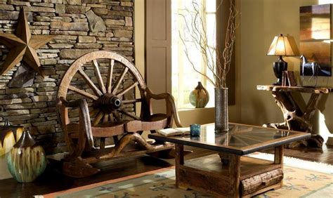 rustic furniture and the types of wood used to make it