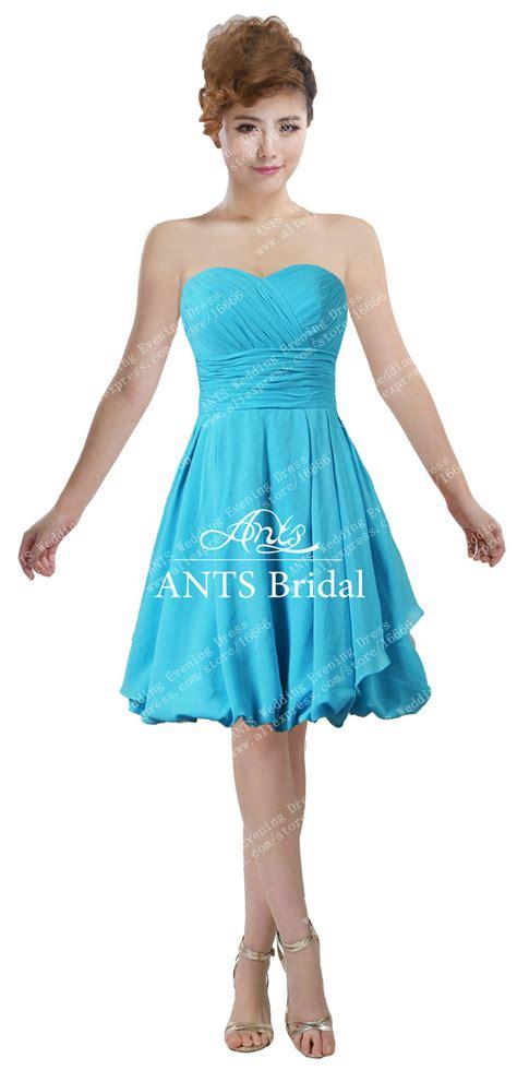 light blue ruffle dress aliexpress com buy ants chiffon ruffle sweetheart light