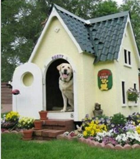 beautiful dog houses beautiful landscaped dog house love it i love pets pinterest