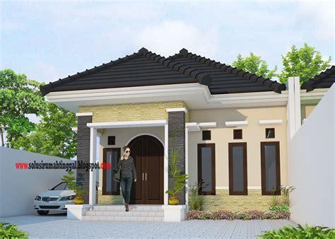 gaya desain rumah  lantai klasik modern    arsitektur indonesia