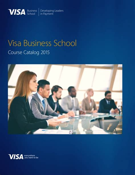 Tamuct Mba Course Catalog 2015 by Visa Business School Catalog 2015