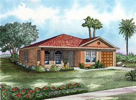 one story starter home or retirement retreat house plan