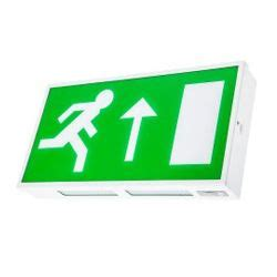 Lu Emergency Fitting channel safety dale led exit sign emergency light e da m3 led 2 st e da m3 led 2 st led