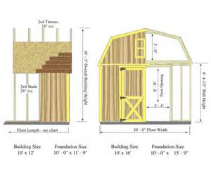 10x12 Shed Plans With Loft by Woodville 10x12 Wood Outdoor Storage Shed Kit