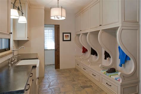 Combined Bath Shower old world elegance rustic laundry room denver by