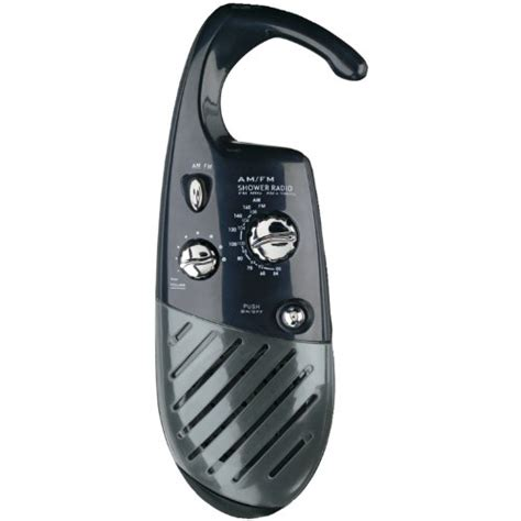 conair home black sr10 shower radio new free shipping