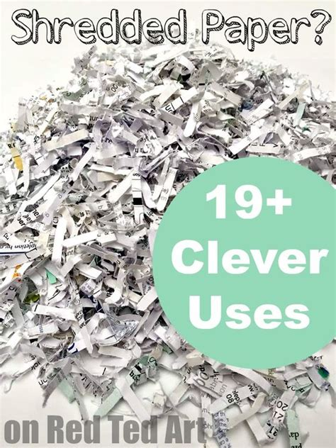 crafts with shredded paper uses for shredded paper recycling recycling ideas and paper