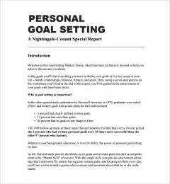 Personal Goal Essay by Goal Setting Template 12 Free Documents In Pdf Word