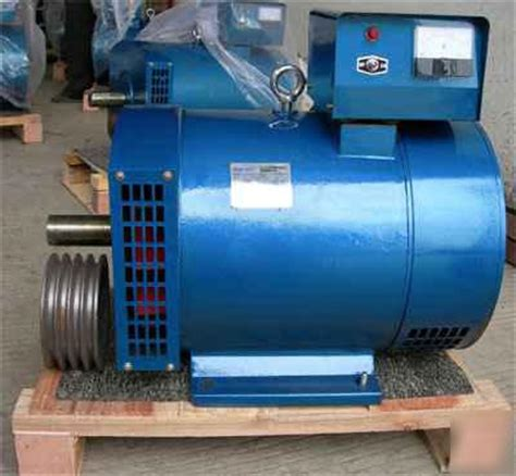 st generator new 5 kw st generator free pulley