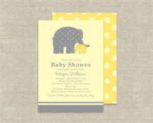 items similar to elephant baby shower invitations zoo animal theme on etsy