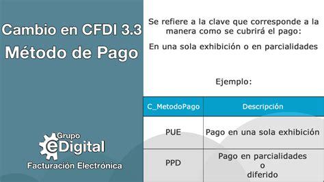 preguntas frecuentes sat complemento de pago cat 225 logo m 233 todo de pago cfdi versi 243 n 3 3 grupo edigital