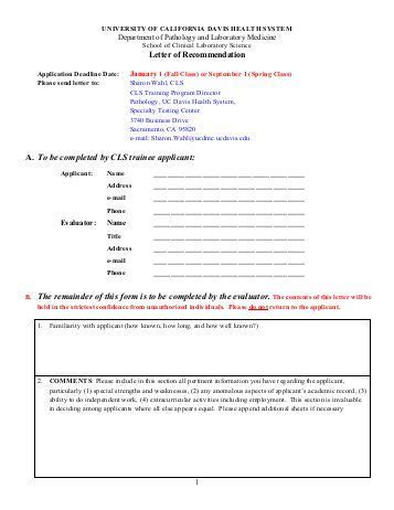 Recommendation Letter Uc Search Results For Student Information Form Page 2 Calendar 2015